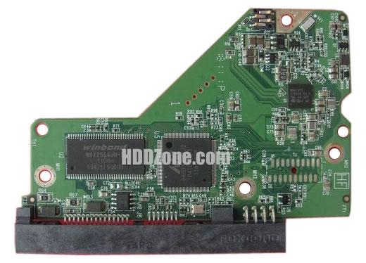2060-771818-000 WD Elektronika Kontrolera Dysk Twardy