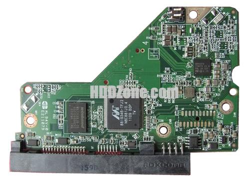 2060-771824-000 WD Elektronika Kontrolera Dysk Twardy