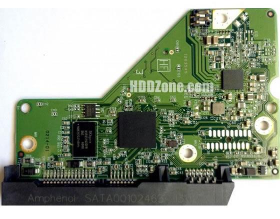 2060-771829-005 WD Elektronika Kontrolera Dysk Twardy