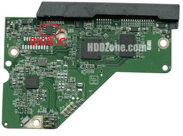 2060-771945-000 WD Elektronika Kontrolera Dysk Twardy