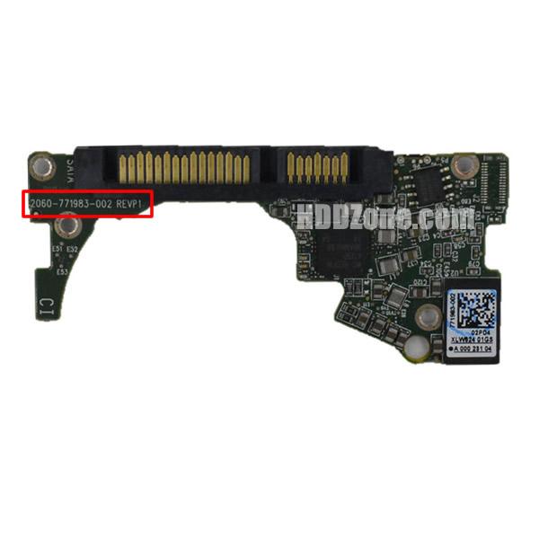 2060-771983-002 WD Elektronika Kontrolera Dysk Twardy