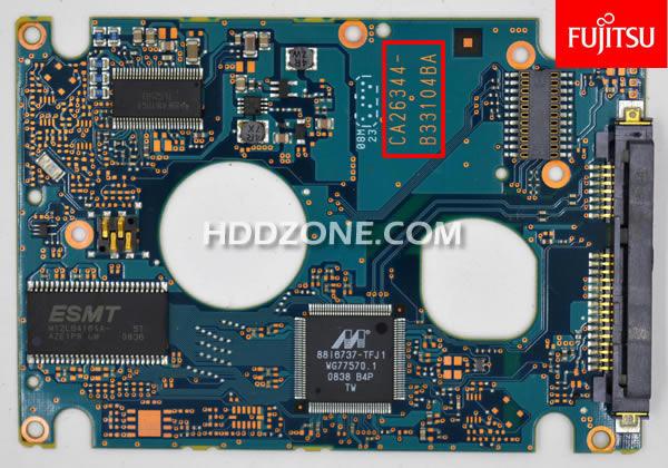 Naprawa Elektroniki Dysku Twardego Fujitsu