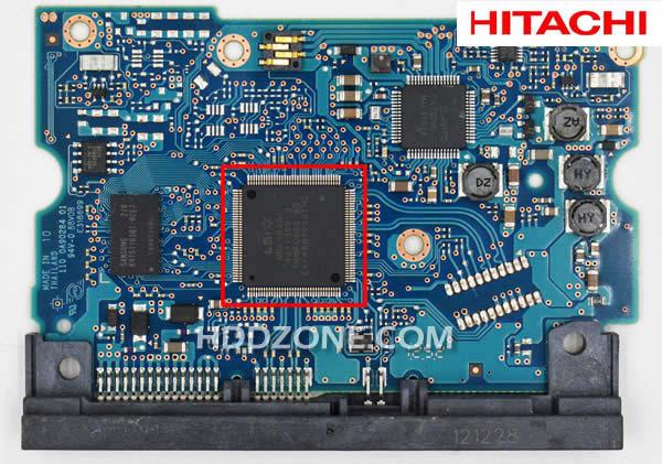 Naprawa Elektroniki Dysku Twardego Hitachi