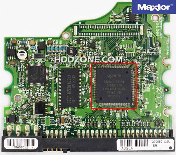 Naprawa Elektroniki Dysku Twardego Maxtor