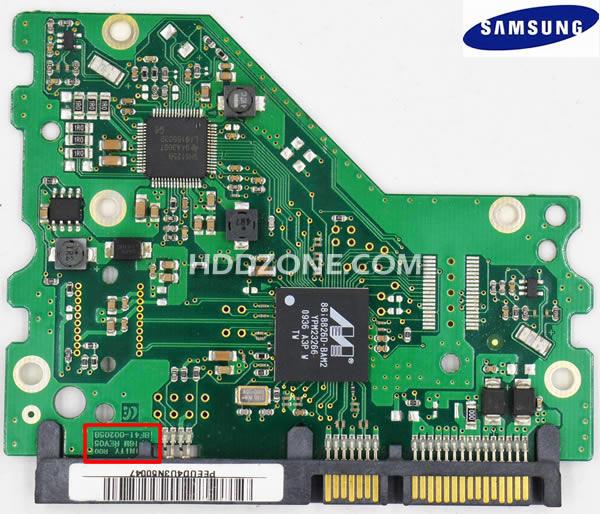 Naprawa Elektroniki Dysku Twardego Samsung