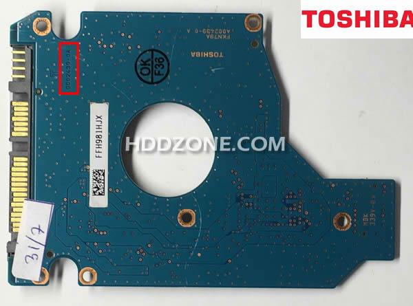 Naprawa Elektroniki Dysku Twardego Toshiba